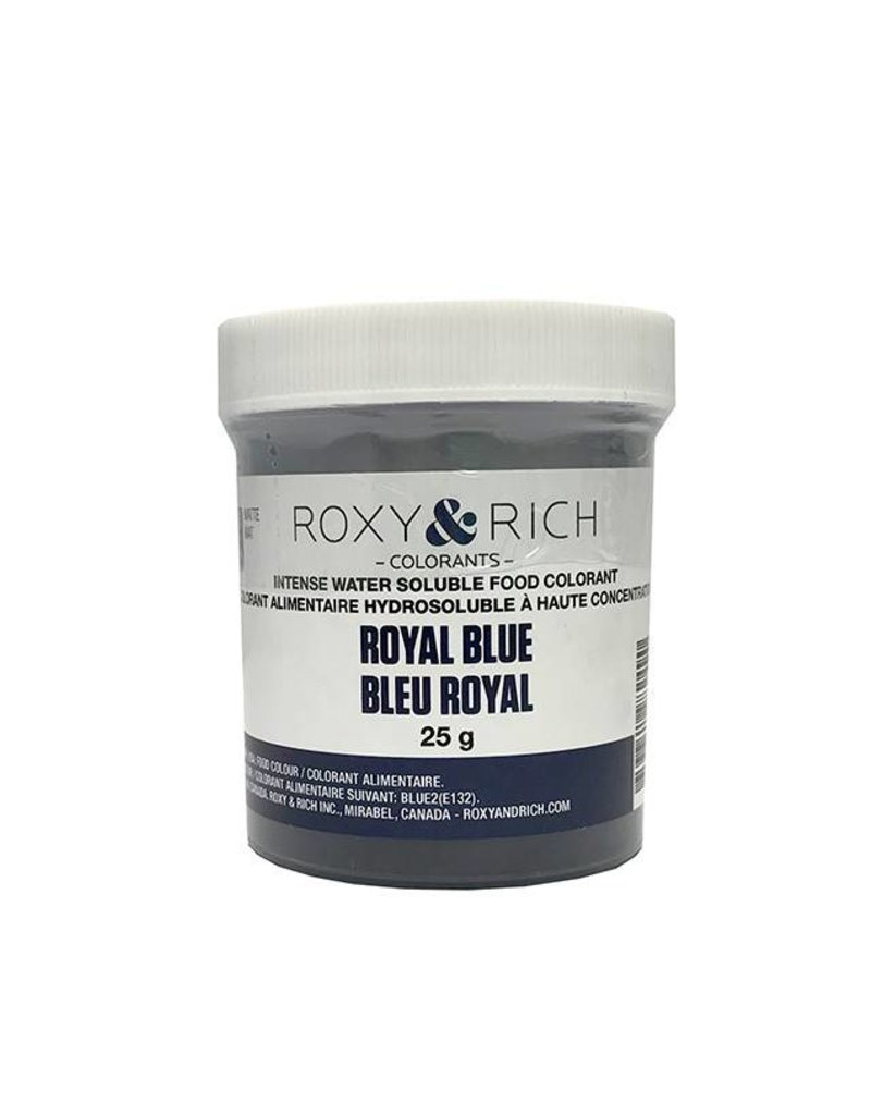 Roxy & Rich Roxy & Rich - Water Soluble Powdered Color, Royal Blue 25g