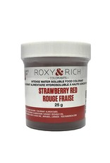 Roxy & Rich Roxy & Rich - Water Soluble Powdered Color, Strawberry Red 25g