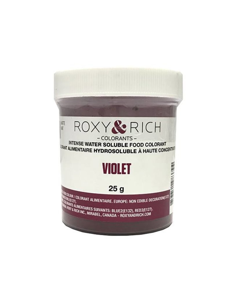 Roxy & Rich Roxy & Rich - Water Soluble Powdered Color, Violet 25g
