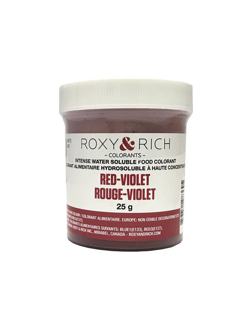 Roxy & Rich Roxy & Rich - Water Soluble Powdered Color, Red Violet 25g