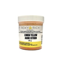 Roxy & Rich Roxy & Rich - Water Soluble Powdered Color, Lemon Yellow 25g