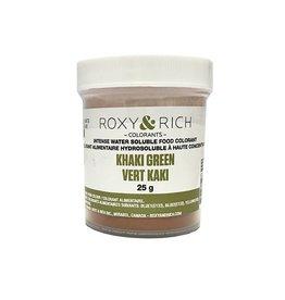 Roxy & Rich Roxy & Rich - Water Soluble Powdered Color, Khaki Green 25g
