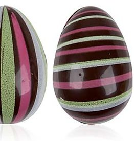 Leman Leman - Chocolate Egg w/Black, Green, Pink - 3D - (64ct), 69619