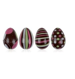 Leman Leman - Egg w/Black, Green, Pink - 3D - (64ct), 69619