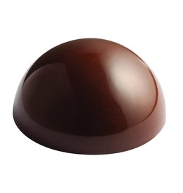 Pavoni Pavoni - Polycarbonate Chocolate Mold, Semi-sphere 65 mm (6 cavity) SP2254