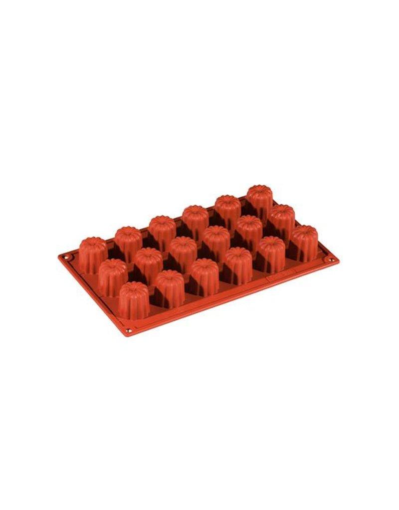 Pavoni Pavoni - Formaflex silicone mold, Mini Cannelle (18 cavity) FR037