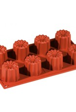 Pavoni Pavoni - Formaflex silicone mold, Cannelle (8 cavity) FR032