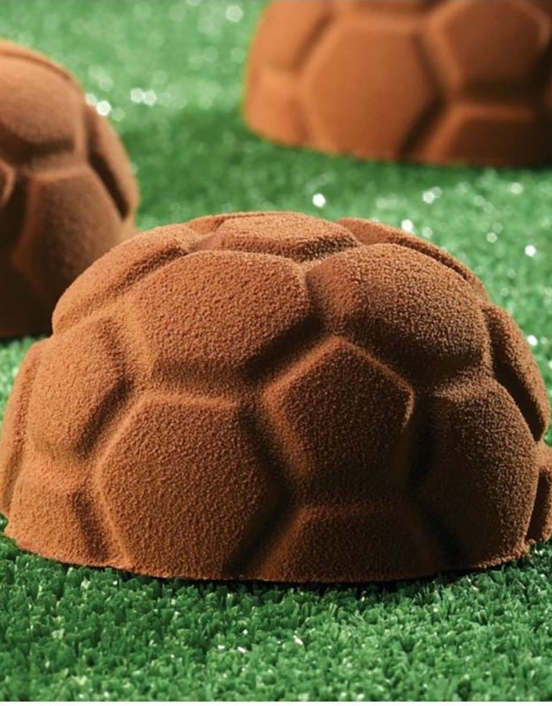 Pavoni Pavoni - Pavoflex silicone mold, Soccer Ball (24 cavity), PX307