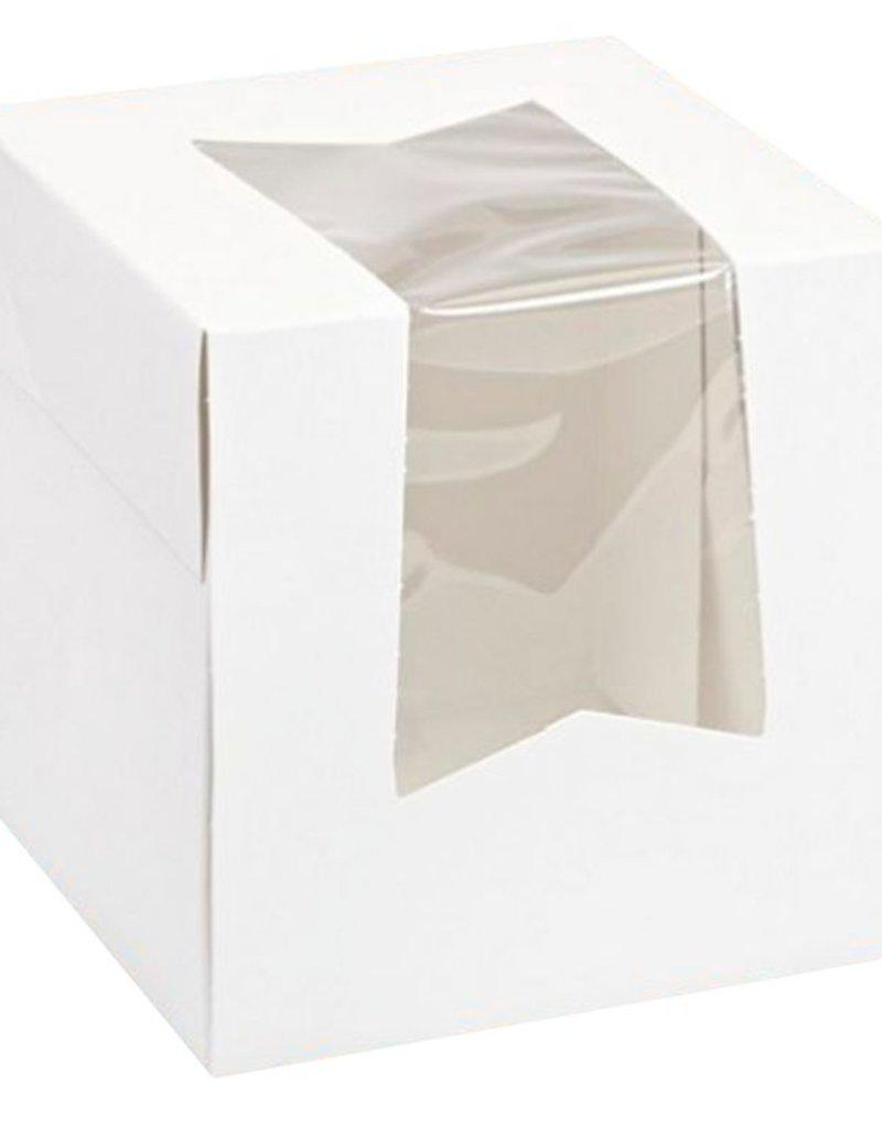 Pastry Depot Cupcake box - 4.5x4.5x4.5''
