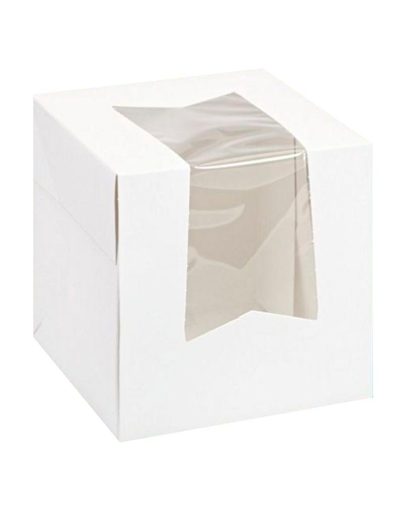 The Pastry Depot Cupcake box - 4.5x4.5x4.5''