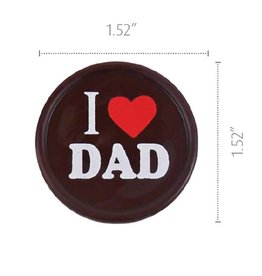 Dobla Dobla - Chocolate I Heart Dad (168ct), 91068 | 21060