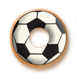Dobla Dobla - Chocolate Donut Topper, Soccer (420 ct), 23229