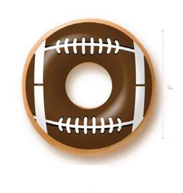 Dobla Dobla - Chocolate Doughnut Topper, Football (420ct), 23200