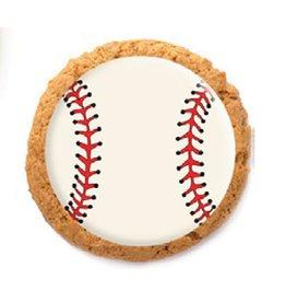 Dobla Dobla - Chocolate Cookie Topper, Baseball (684ct), 23191