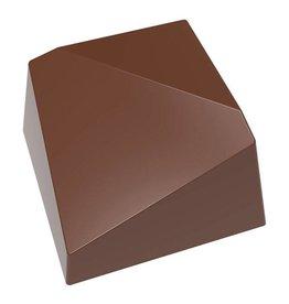 Chocolate World - Polycarbonate Chocolate Mold - Diagonal, CW1559 (24 cavity)