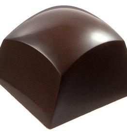 Chocolate World - Polycarbonate Chocolate Mold - Round cube, CW1753 (21 cavity)
