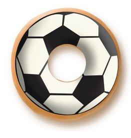 Dobla Dobla - Chocolate Donut Topper, Soccer (60ct), 23229-R