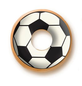 Dobla Dobla - Chocolate Donut Topper, Soccer (60ct), 23229-R
