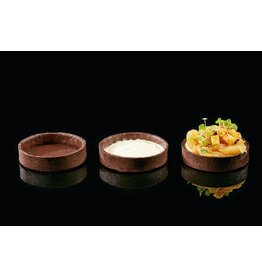 Delifrance Delifrance - Tart shell, Chocolate round - 4'' (40ct), 78450