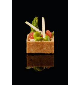 Delifrance Delifrance - Tart shell, Sweet square - 1.5'' (240ct), 78444