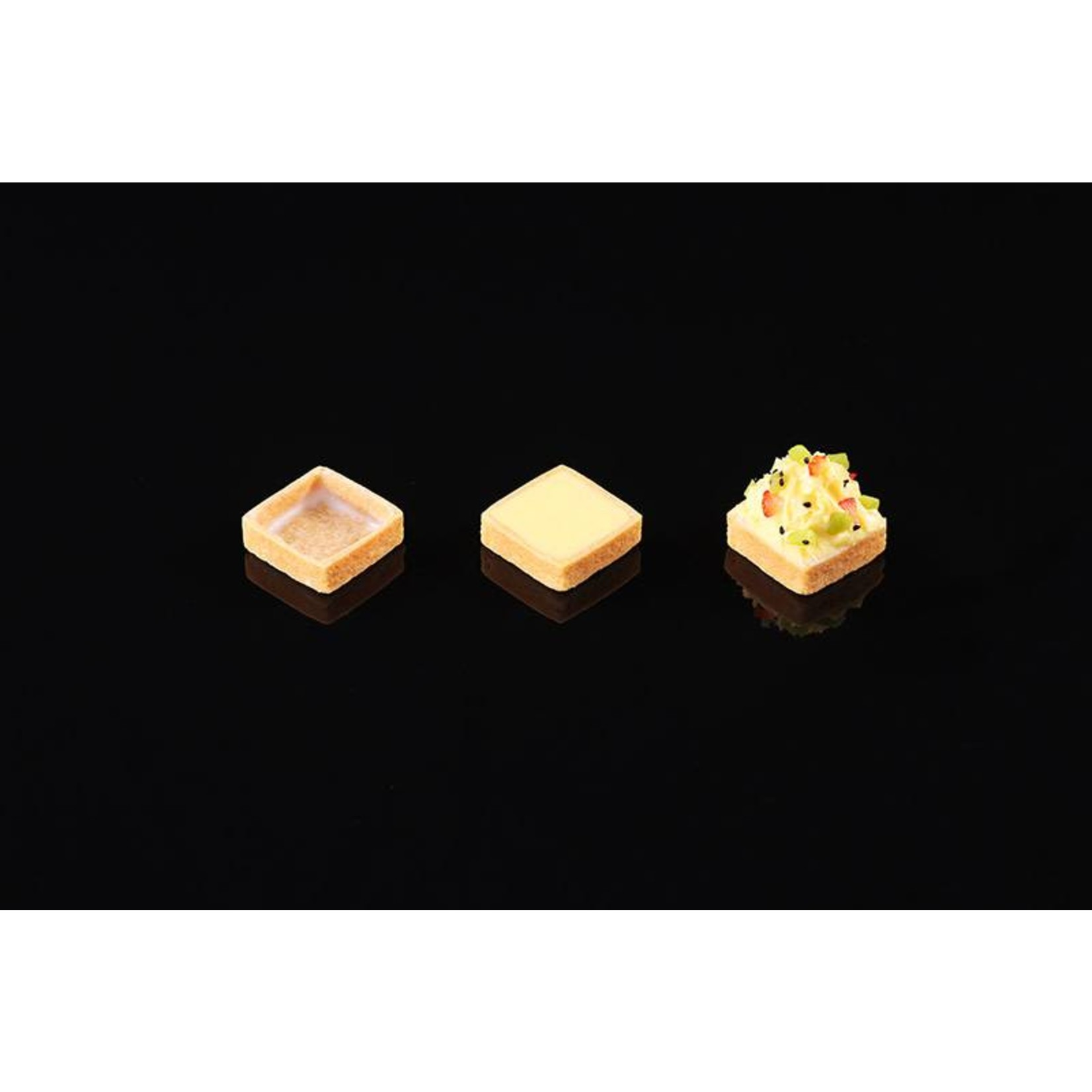 Delifrance Delifrance - Tart shell, Sweet square - 2'' (100ct), 78445