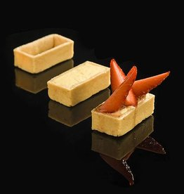 Delifrance Delifrance - Tart shell, Sweet rectangle - 2x1'' (240ct), 78447