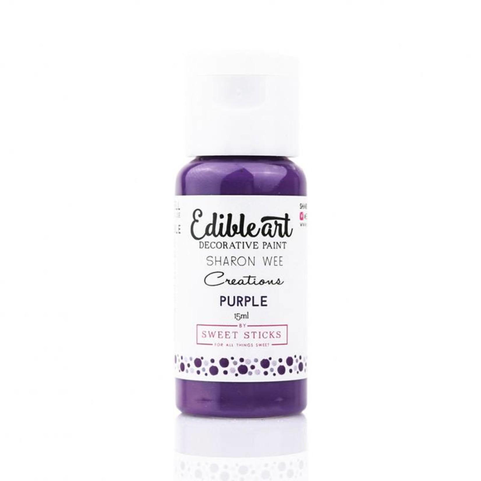 Sweet Sticks Sweet Sticks - Purple Edible Art Paint - 15mL