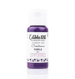 Sweet Sticks Sweet Sticks - Purple Edible Art Paint - 15mL