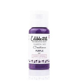 Sweet Sticks Sweet Sticks - Edible Art Paint, Purple - 15mL