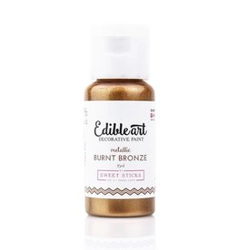 Sweet Sticks Sweet Sticks - Metallic Burnt Bronze Edible Art Paint - 15mL