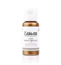 Sweet Sticks Sweet Sticks - Edible Art Paint, Metallic Burnt Bronze - 15mL