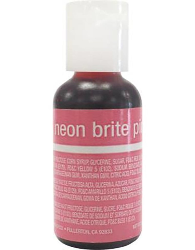 Chefmaster Chefmaster - Neon Pink Gel food color - 0.70oz