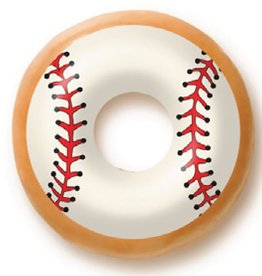 Dobla Dobla - Chocolate Donut Topper, Baseball (60ct), 23192-R