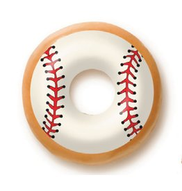Dobla Dobla - Chocolate Donut Topper, Baseball (60ct), 23192-R