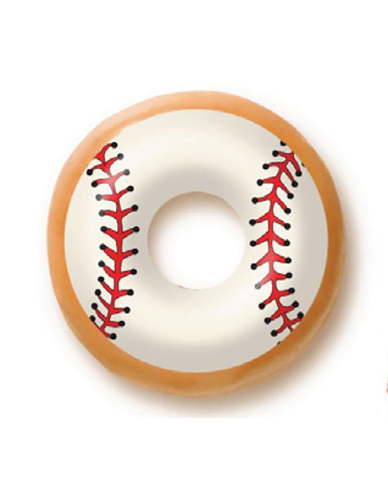 Dobla Dobla - Chocolate Doughnut Topper, Baseball (60ct), 23192-R