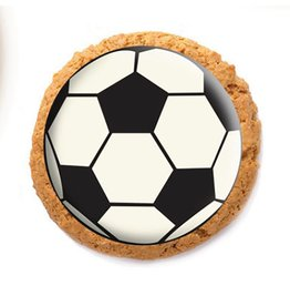 Dobla Dobla - Chocolate Cookie Topper, Soccer (126ct), 23220-R