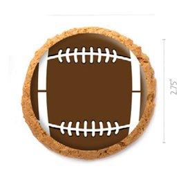 Dobla Dobla - Chocolate Cookie Topper, Football (126ct), 23199-R