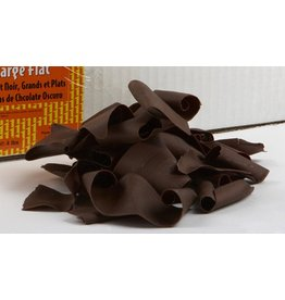 Pastry 1 Pastry 1 - Dark Chocolate Flat Shavings, Large - 8oz, PA3510-R