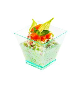 Sweet Flavor Plastic vessel - Mini Kita Cup, green - 2oz (400ct), DD10300
