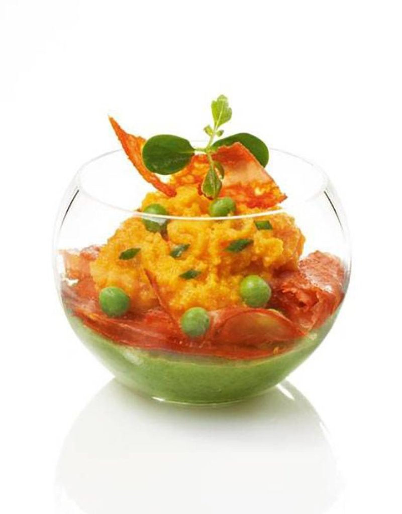 Sweet Flavor Plasticware - Sphere, clear - 1.5oz (200ct), DD00001
