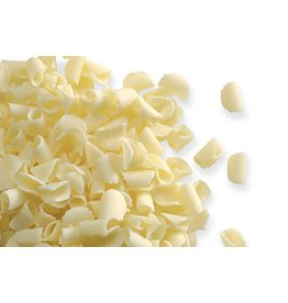 Dobla Dobla - White Mini Chocolate Curls - 1 lb, 96392-R