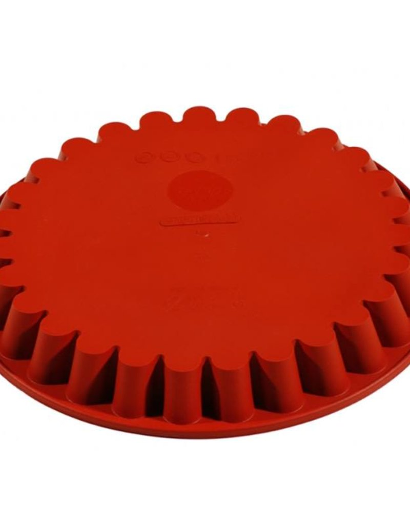 Pavoni Pavoni - Formaflex silicone mold, Tonda Cannellat 260mm, FRT051