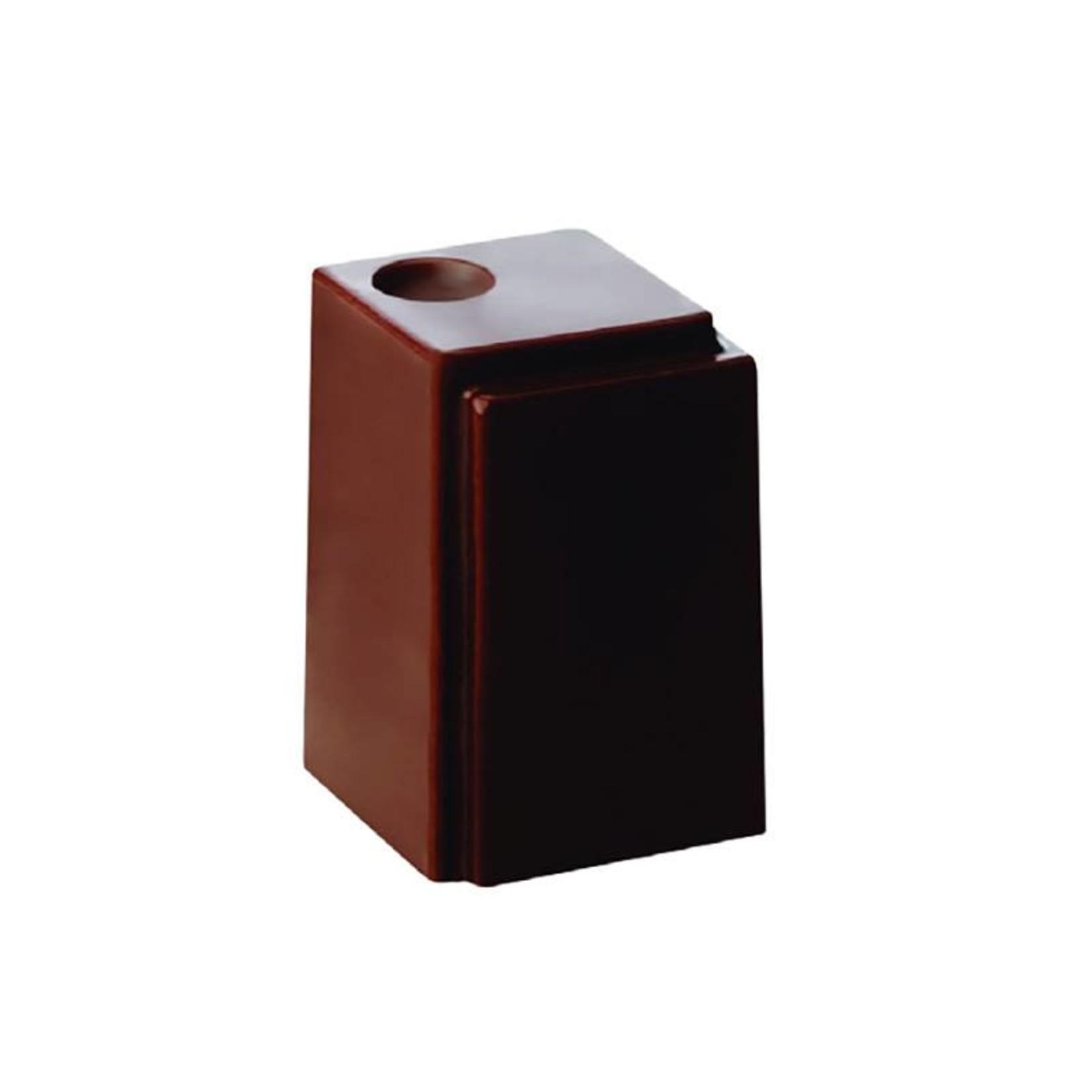 Pavoni Pavoni - Praline Polycarbonate Chocolate Mold Square (24 cavity), PC21