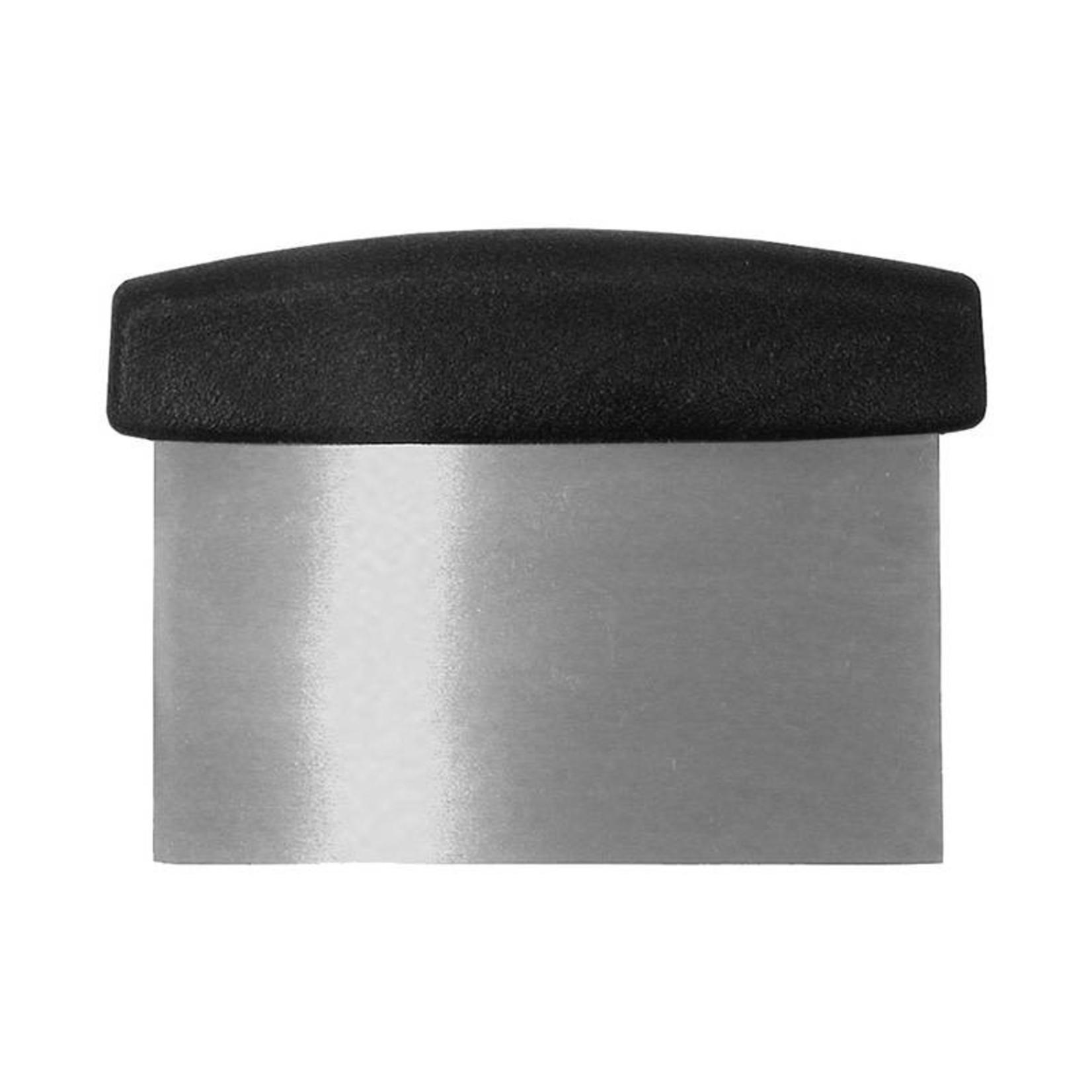 Winco Winco - Dough Scraper w/ plastic handle, DSC-2