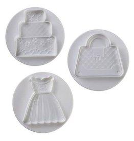 Pavoni Pavoni - Cutter Kit, Wedding set, 3 pcs, NO3009