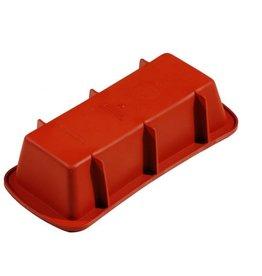 Pavoni Pavoni - Formaflex silicone mold, Plumcake 240mm, FRT106