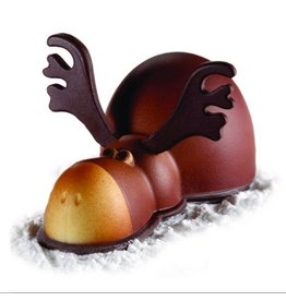 Pavoni Pavoni - Thermoformed, Rudolph Christmas mold, KT86