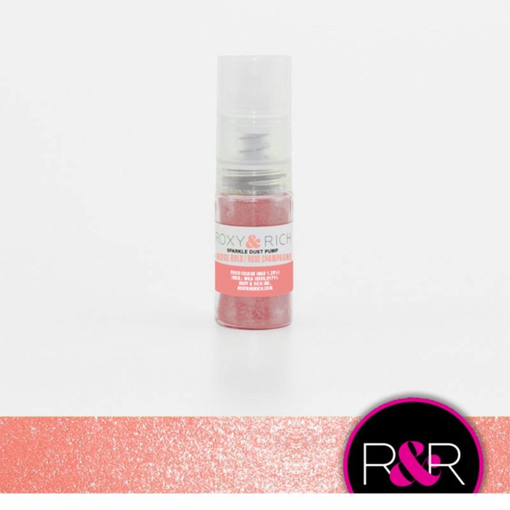 Roxy & Rich Roxy & Rich - Sparkle Dust Pump, Rose Gold - 4g, S4-054P