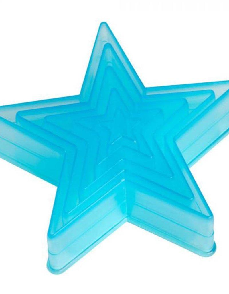 Ateco Ateco - Star Cutter - Tritan (5ct), 5750