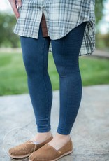 Denim Ladder Leggings